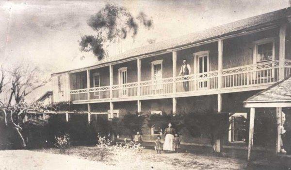 olivas adobe historical photo ventura
