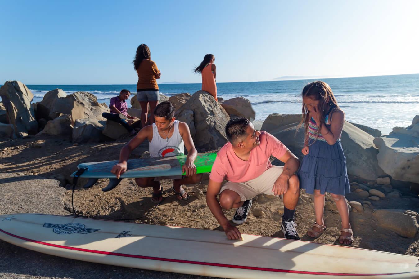 family beach ventura