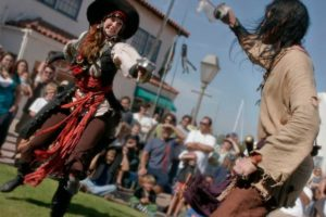 Pirate day at Harbor Village
