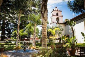 san buenaventura mission garden
