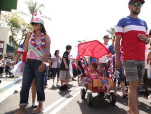 push em pull em 4th of july street fair and parade ventura