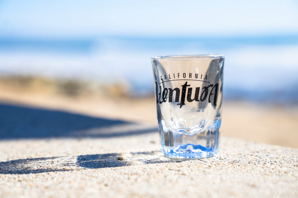 Ventura shot glass