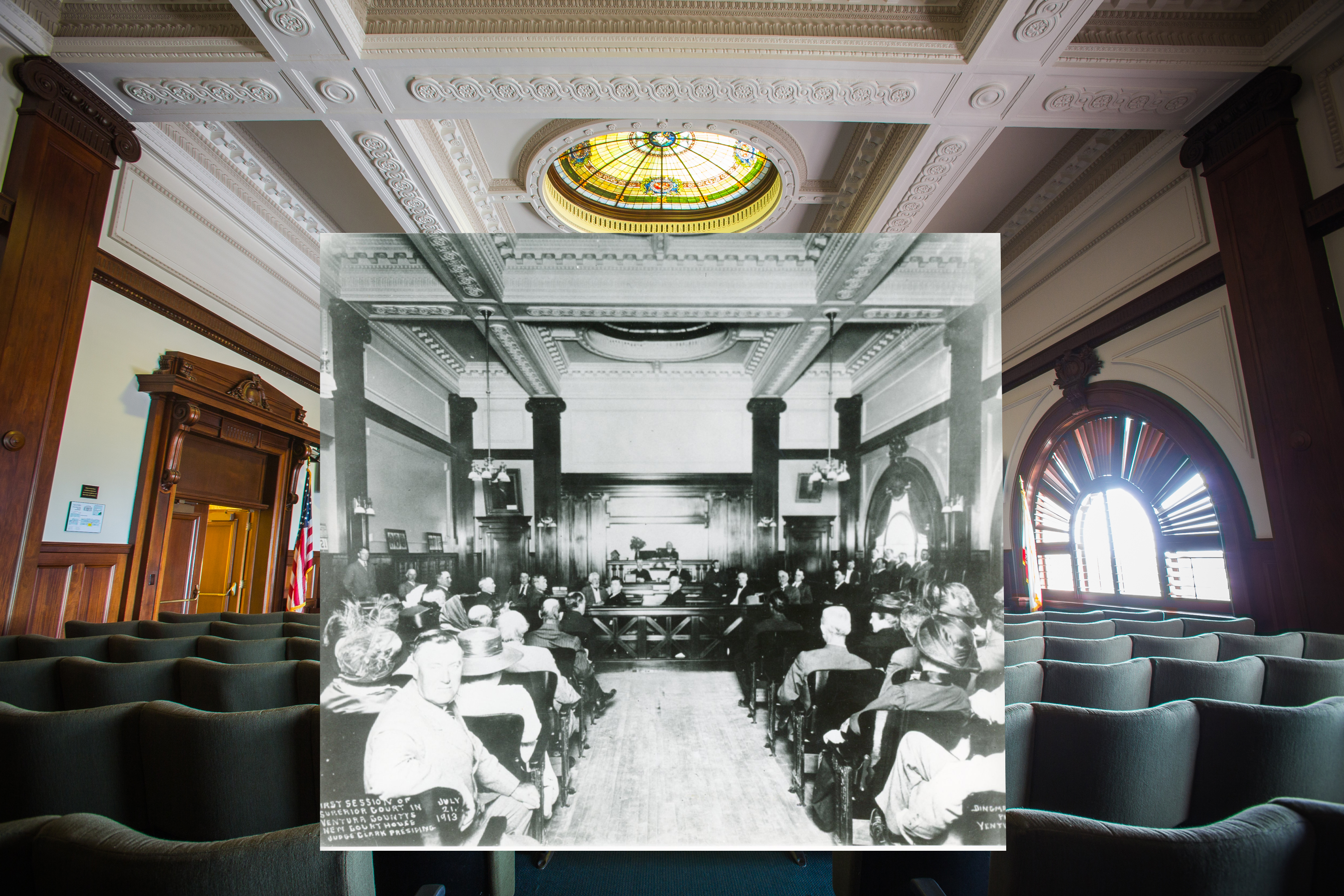 Ventura_City_Hall_Then_and_now
