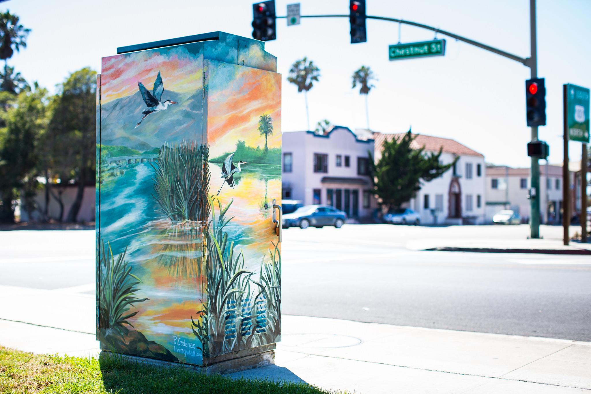 Ventura Utility Box Art 3