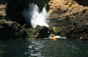 channel islands national park kayaking sea caves