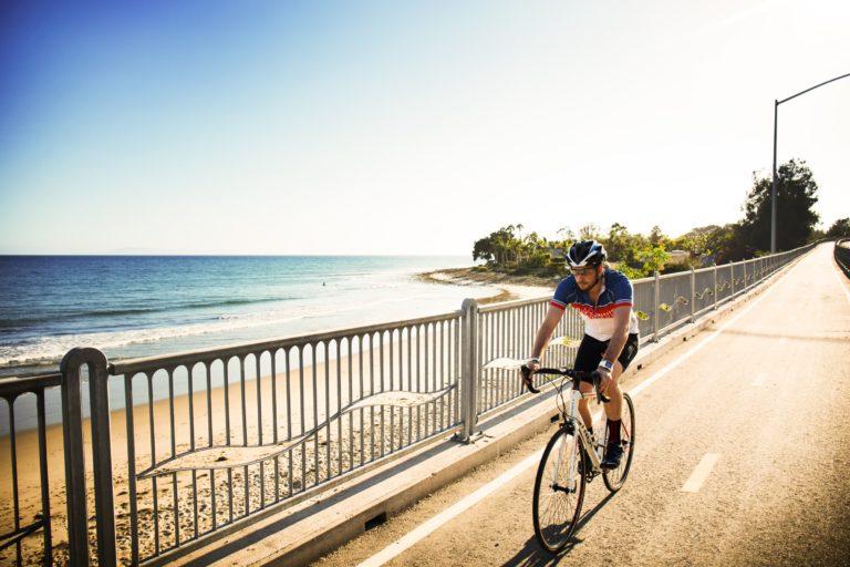 Biking into Ventura