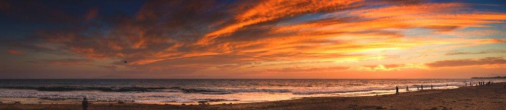 sunset in ventura Kamilo Bustamante