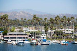 Ventura Harbor Village boats marina park