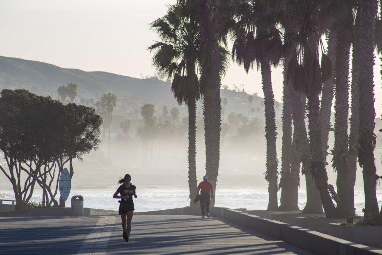 joggen im Kalifornia