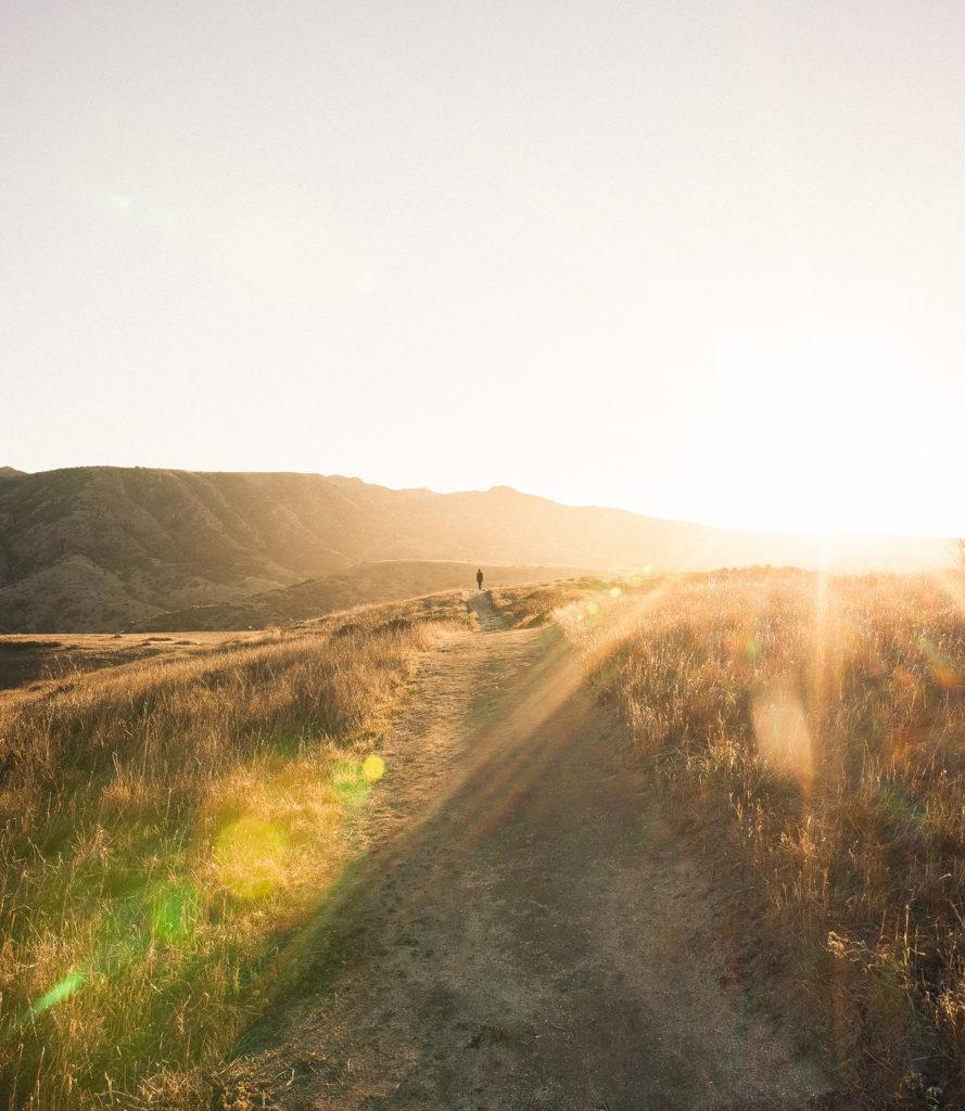 Hiking at Santa Cruz Island