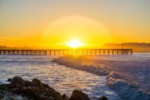 surfers point sunrise ventura