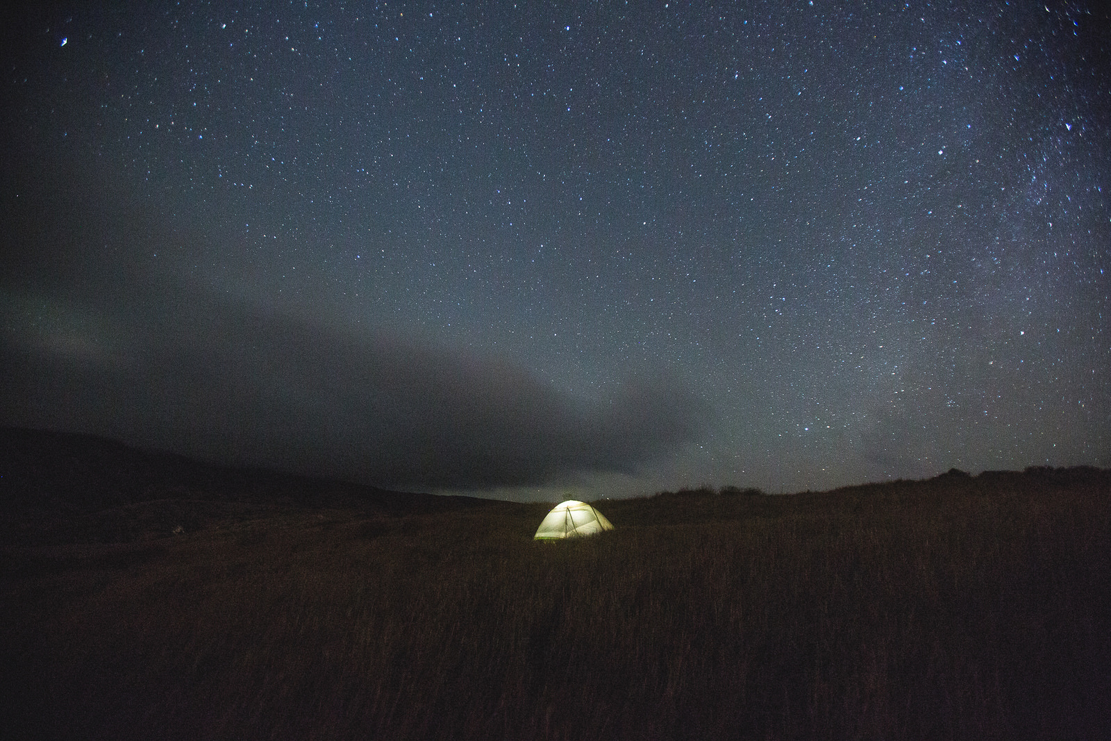 Starry night at Channel Islands National Park