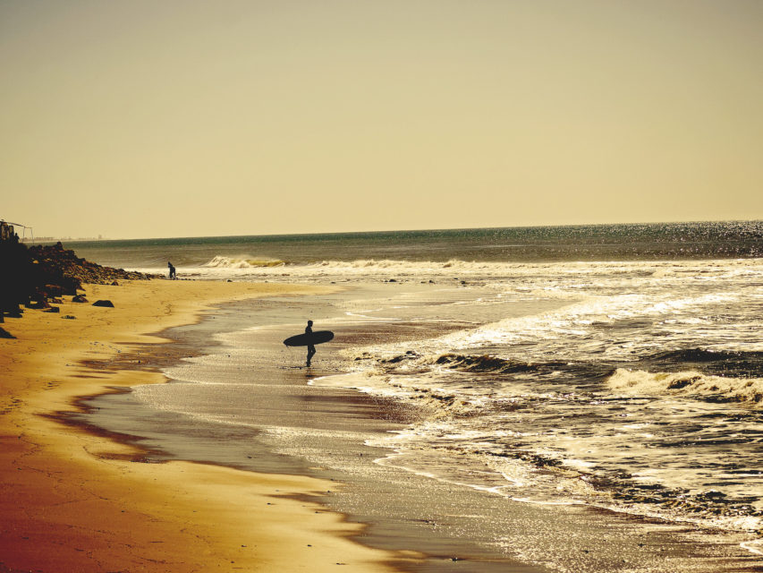 Surfer at emmawood