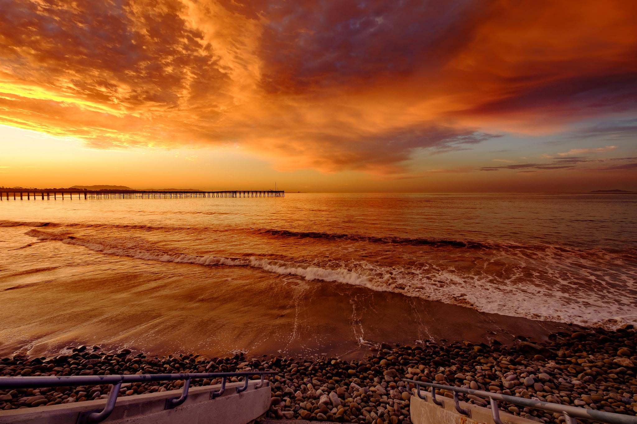 Ventura Sunset Photo by Steve Cattanach