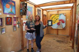 Friends at Art Walk in Ventura