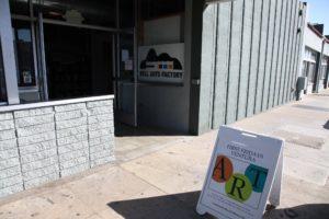 First Friday Art Sign in Ventura