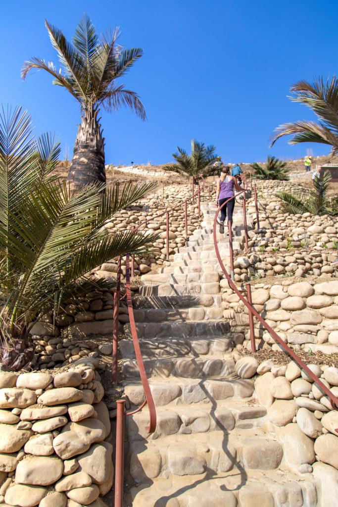 Ventura Botanical Gardens new stairs