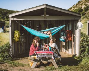 camping at the channel islands
