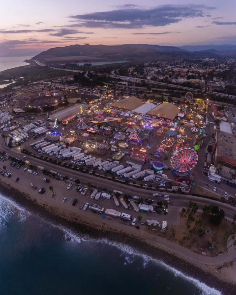 Ventura County Fair aerial Mike Laan