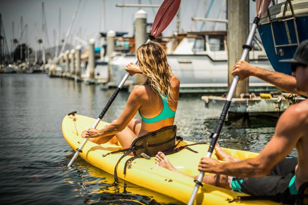 kayaking at Ventura Harbor