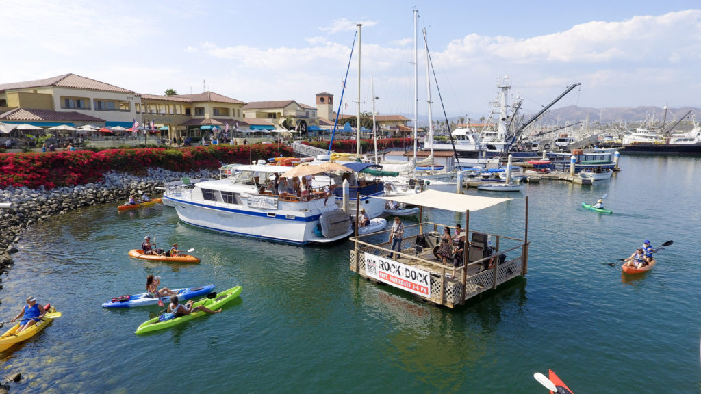 view of Ventura Harbor Village