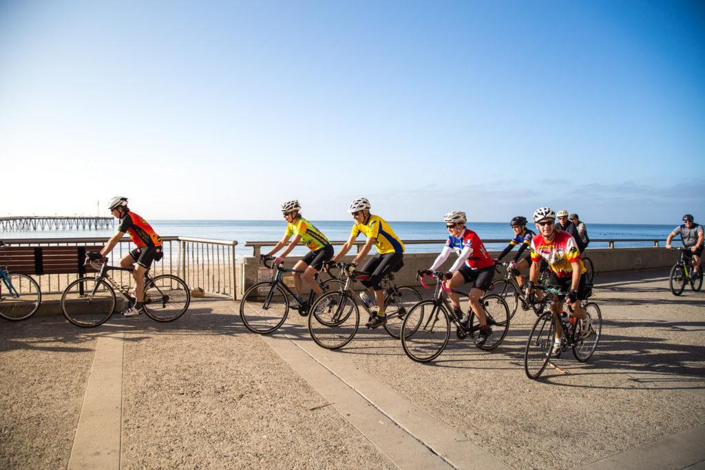 cycling Ventura promenade