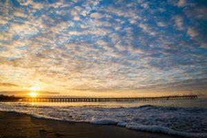 Ventura pier sunrise