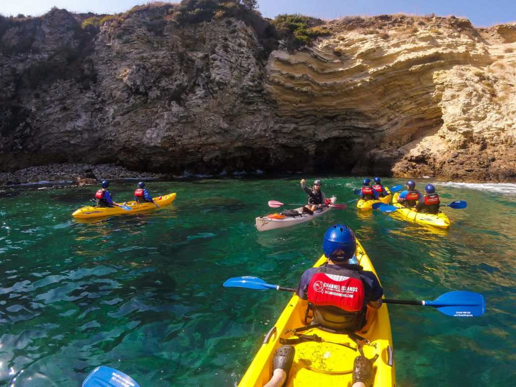 Kayaking at Channel Islands National Park