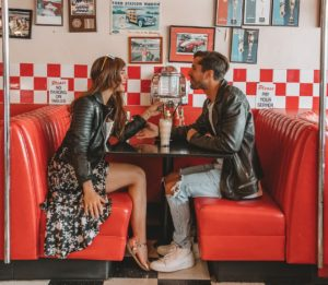 busy bee diner couples valentine's day