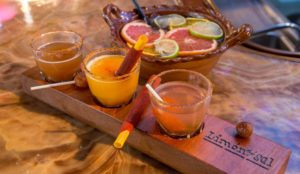 tequila and taco limon y sal drinks shots ventura