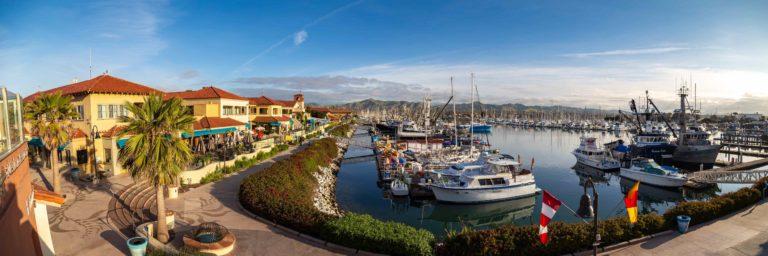 Ventura Harbor Village morning