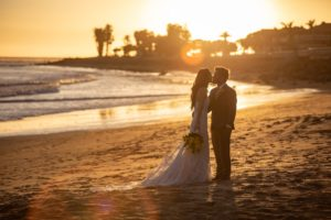 ventura weddings crowne plaza beach