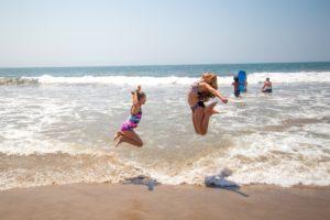 Kids Playing at Ventura Beach