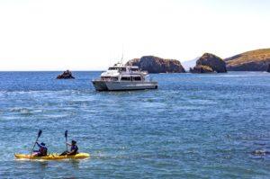 ventura channel islands national park kayaking