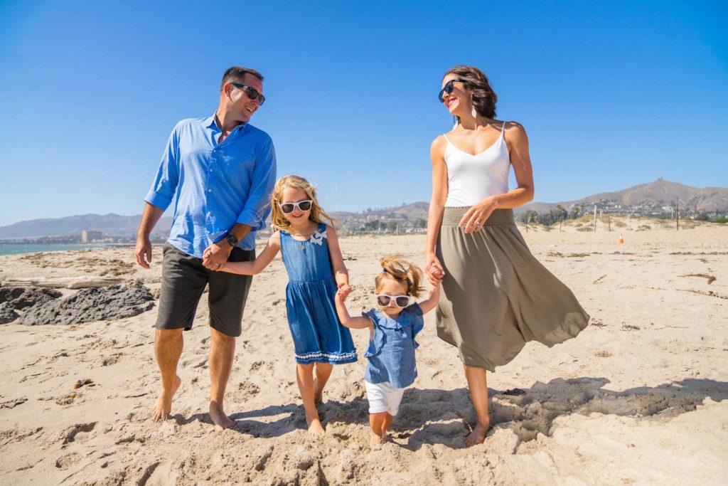 Mayor's family beach day