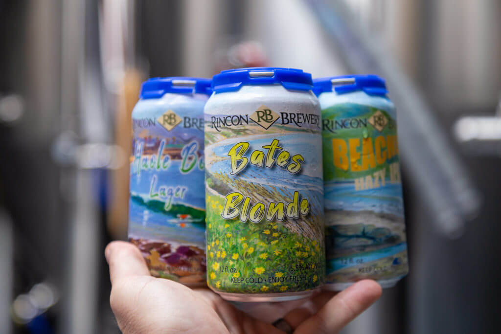 rincon art beer cans