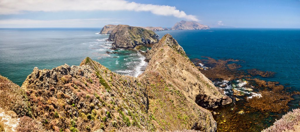 Channel islands view