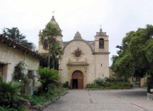 San carlos borromeo de carmelo mission rictor norton and david allen visit ventura mission trail