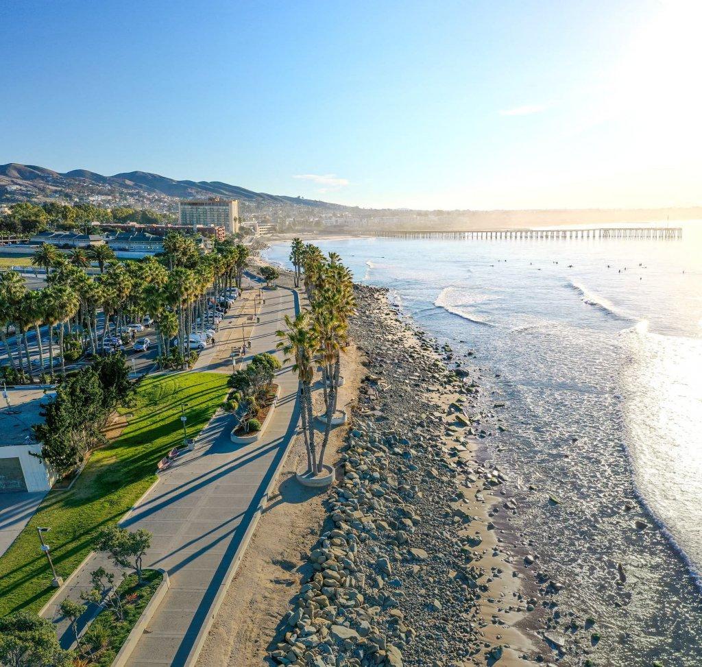 Drone aerial ventura california