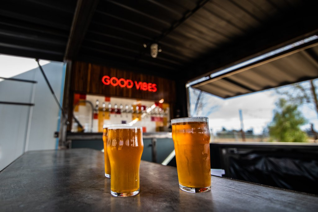 Beer good vibes