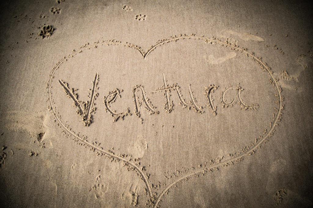 ventura love in the sand