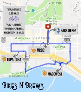 bikes and brews downtown ventura