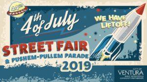 4th of july street fair ventura push em pull em