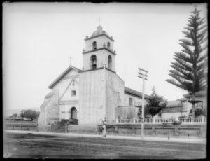 san buenaventura mission historical photo
