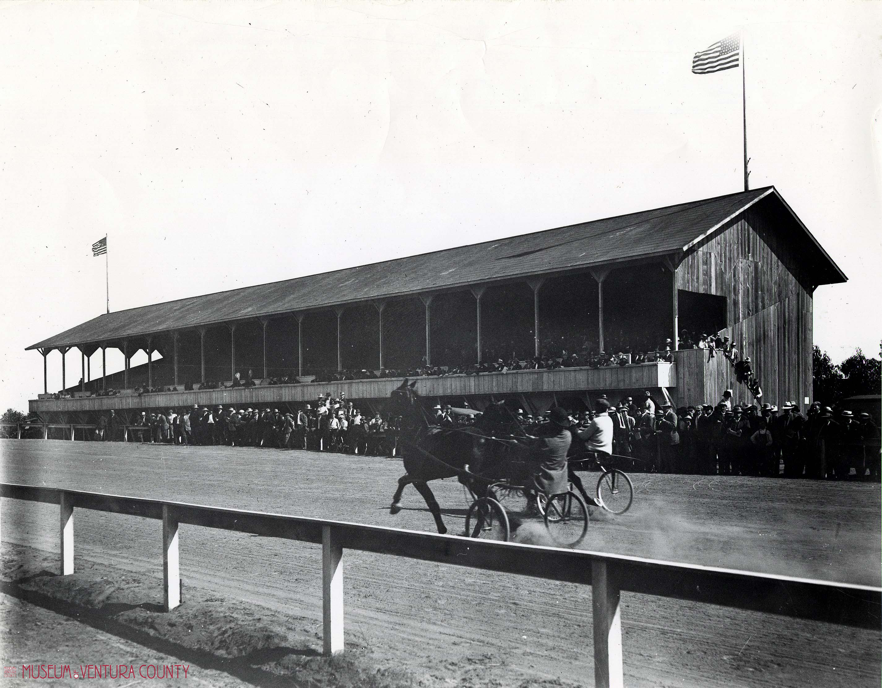 Historical photo of Horse Races at the Ventura County Fair