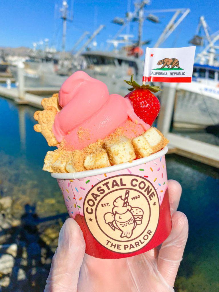 Love Planet coastal cone ice cream ventura