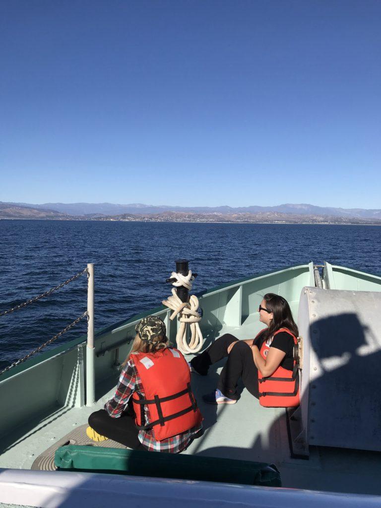 boat ride to Ventura