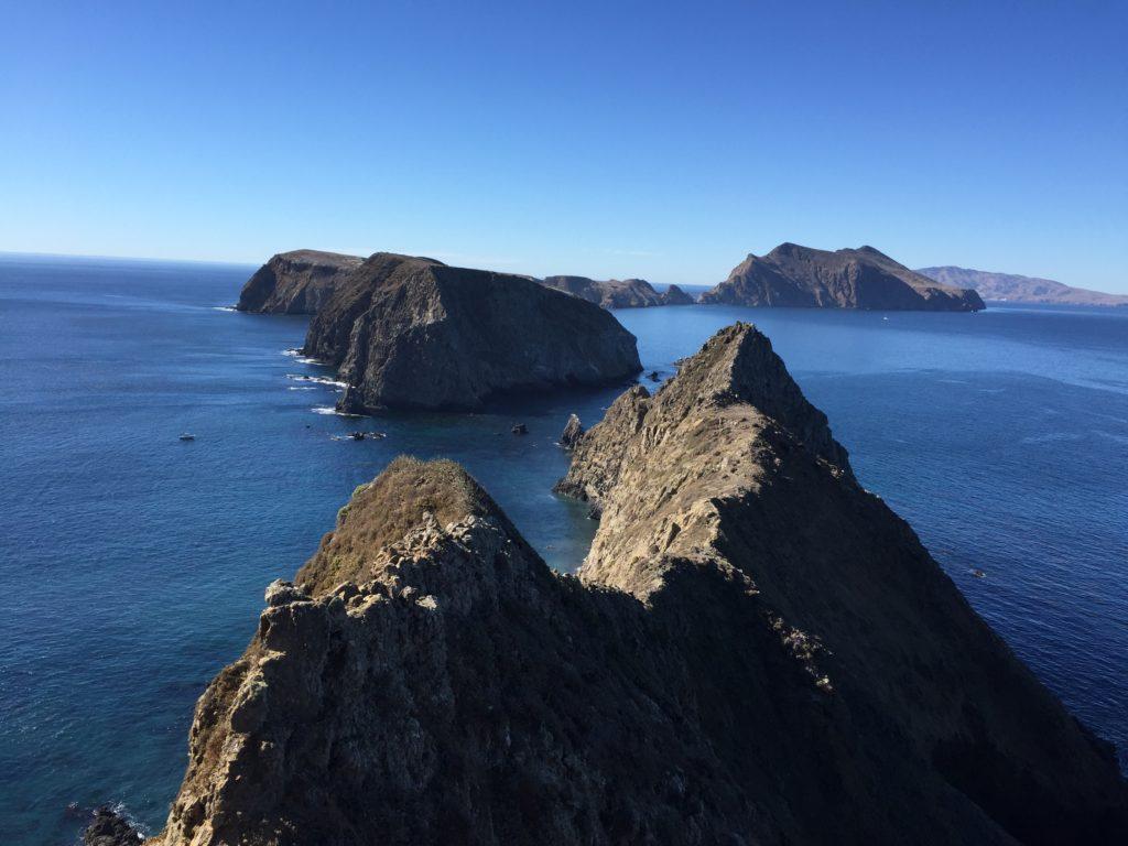 view at Anacapa Island