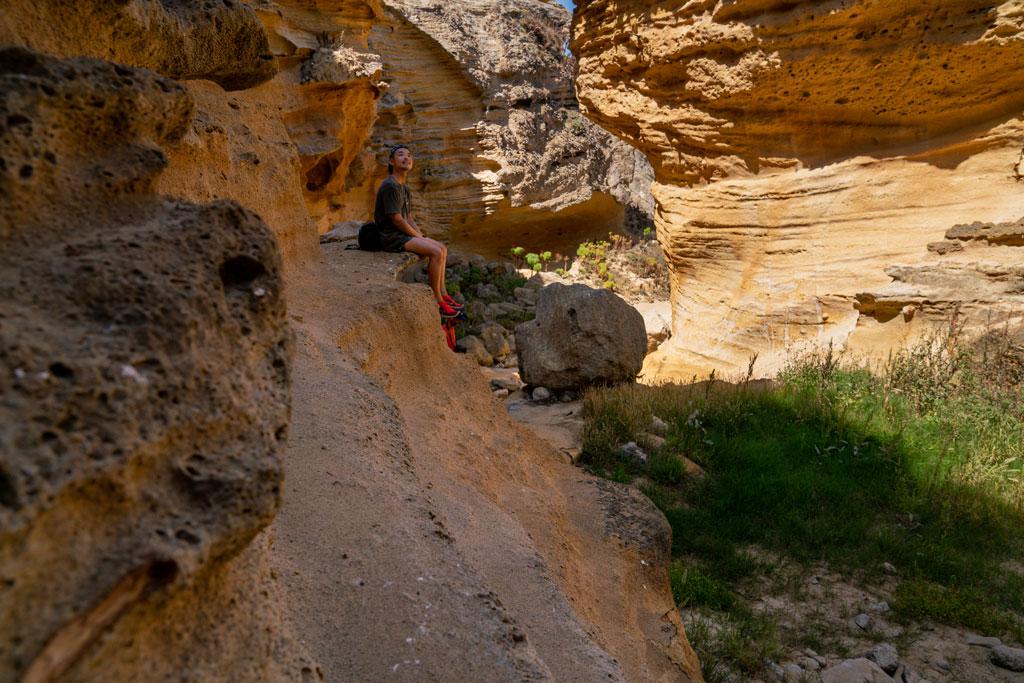 Hiking Lobo Canyon at Santa Rosa Island