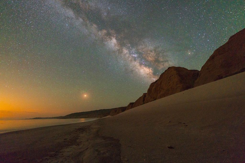 Star gazing at Santa Rosa Island